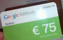 voucher 75 eur Google Adwords